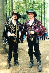 Two Guys in Tights (jrozwado) Tags: usa men maryland tights renaissancefestival renaissance crownsville codpiece