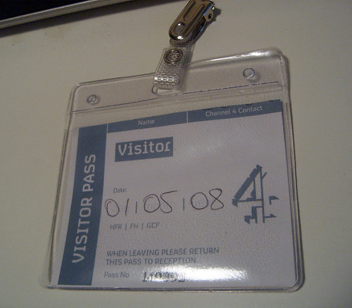 My Channel 4 Badge