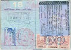 Passport 18 19 () Tags: chile brazil brasil stamp paraguay passport picnik visa pasaporte sello
