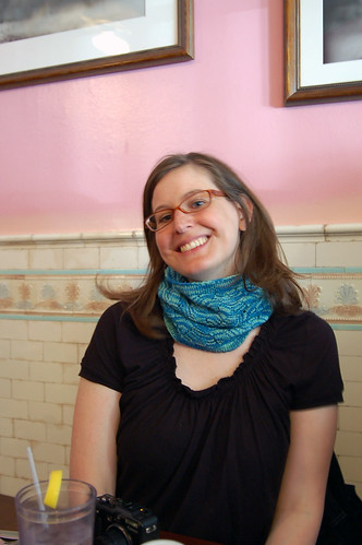 Megan in the Monkey Cowl