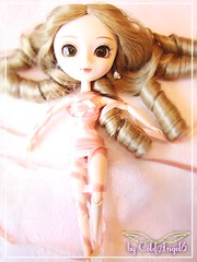 Pullip Blance (♥ ColdAngel6 ♫) Tags: pink girls portrait color cute girl rose toy toys photography nice colorful doll loop sweet picture rosa pic loops kawaii pullip blanche tapes farbe catchy farben niedlich beautyful schleife schleifen süs junplanning coldangel6