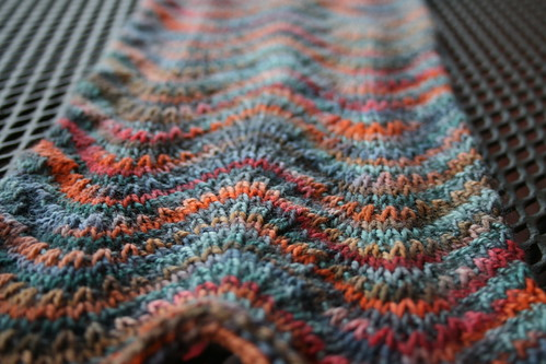 chevron in koigu