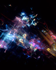 An Assemblage of Light (Reciprocity) Tags: light abstract color colour film glass colors analog 35mm assemblage space patterns refraction analogue lensless caustics photogram diffraction nikomat nikkormat lightart experimentalphotography reciprocity refractograph fujichrome64t lenslessphotography 26march0828 ls73bs9 s5328