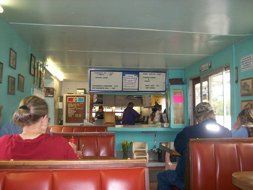 Inside The Greasy Spoon Cafe