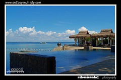 abaca infinity pool (on2boy) Tags: beach olympus resort cebu breeze hdr resto evolt e500 abaca cebusugbo on2boy outstandingpinoykodakero