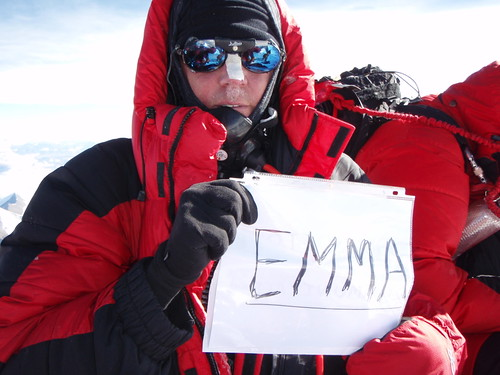 Emma on Everest