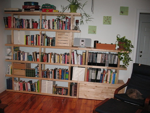 After-library area