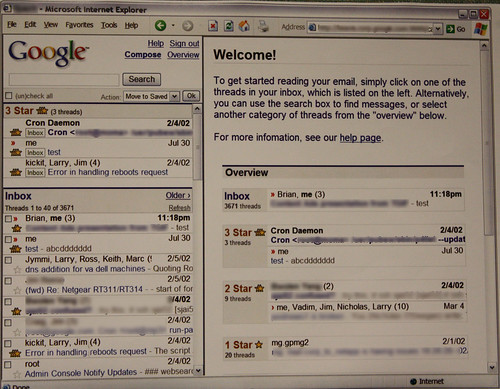 Google Mail old