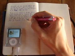 Schrijven in boekske
