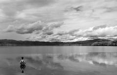 (Matt Saunders - back from travelling!) Tags: lake water fishing couds supershot blackandwater brillianteyejewel