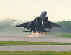 Torching the Asphalt (Roy Mac) Tags: canada nikon fighter shot exercise eagle military jet 100v10f best alberta worlds f15 afterburner coldlake heatwaves maclellan supershot abigfave mapleflag roymaclellan flickrsmasterpieces