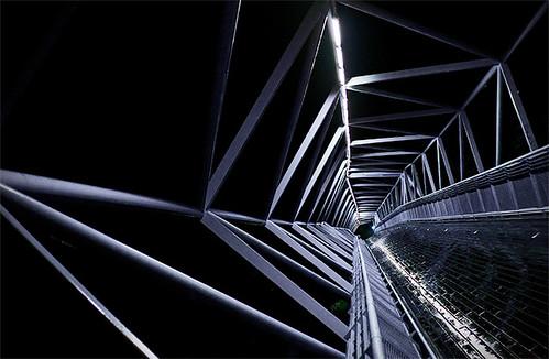 Pont pieton, Valladolid, Espagne