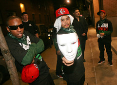 Hanging with the Jabbawockeez! (bernard.leung) Tags: toronto alley downtown dancers mask republik chillin celebrities 2008 afterparty muchmusicvideoawards mmva jabbawockeez