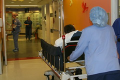 To the OR! (ktcphotos) Tags: hospital surgery patient nurse childrenshospital scoliosis spinalfusionwinstrumentation