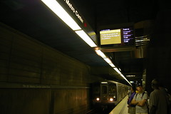 Next Train Information on Metro Subway TPIS Displays (fredcamino) Tags: subway redline nexttrain tpis metroriderla