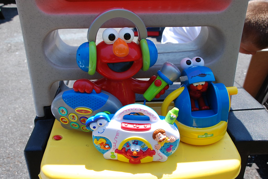 3 Elmo Toys $10/all