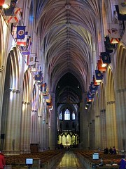 interior, Washington National Cathedral (public domain)