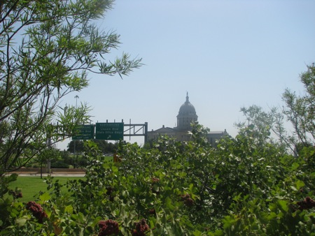 State Capitol Building in Oklahoma City