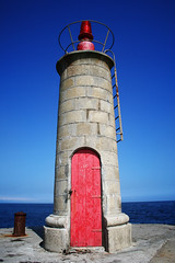 1204 (sul gm) Tags: door red sea sky espaa lighthouse faro puerto mar spain rojo puerta asturias cielo tapia asturies tapiadecasariego saulgm