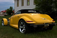 Plymouth Prowler (fyngyrz) Tags: vince plymouth prowler fyngyrz