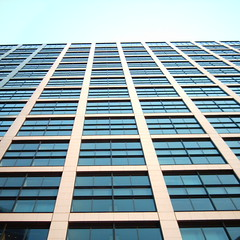 【写真】ミニデジで撮影した東京汐留ビルディング