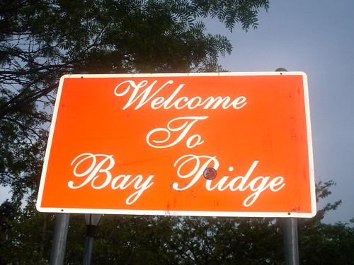 Welcome to Bay Ridge...