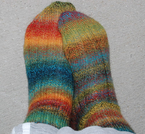 Trekking XXL socks finally finished!!