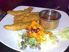 Pakoras at Khushi's Indian Restaurant, Edinburgh