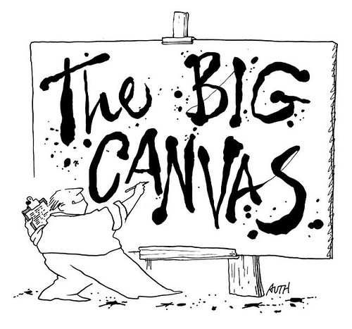 The Big Canvas logo