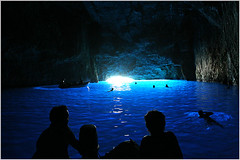 Blue cave (nicolas.gr) Tags: blue people water roc boat greece nicolas cave greekisland blueribbonwinner kastelorizo golddragon abigfave colorphotoaward lezas diamondclassphotographer flickrdiamond ysplix top20greece