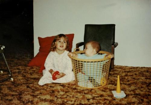 Duane Storey In A Basket