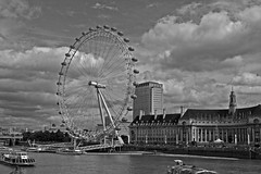 London Eye (G w Clark) Tags: city england london eye wheel riverthames touristattraction uklondon captial thameslondonlondoneye