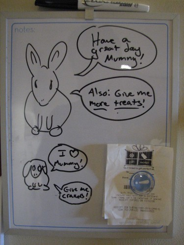 bunny message