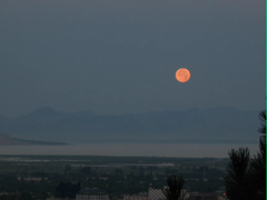 Time-lapse early morning moonset (swilsonmc) Tags: morning timelapse moonset imagesequence
