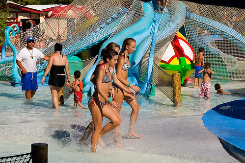 teens theme Candid park at