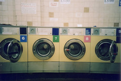 launderette 01 (chrrristine) Tags: london film lomolca hackney laundromat launderette broadwaymarket