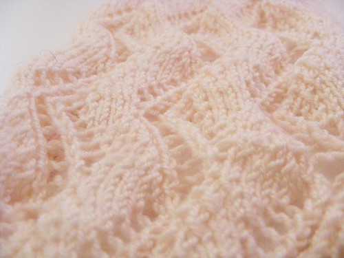 Lace Ribbon from Knitty