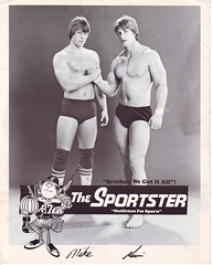Mike and Kevin Von Erich (Matt and Jordan Bucher) Tags: texas wrestling tyler wrestlers sportster wwf wcw sportatorium kevinvonerich mikevonerich vonerich