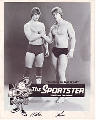 Mike and Kevin Von Erich (Matt and Jordan Bucher) Tags: texas wrestling tyler wrestlers sportster wwf wcw sportatorium kevinvonerich mikevonerich vonerich