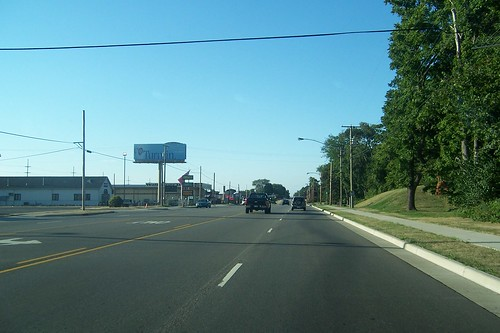 Northbound on the south side