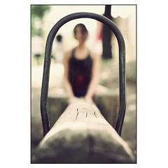 Teeter-Totter Framing (manlio_k) Tags: playground forest dof bokeh explore frame simona teetertotter manlio trave castagna altalena goldenbokeh manliocastagna manliok