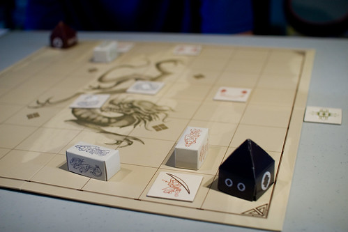 Dragons of Kir board