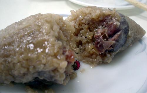 [吃] 小上海【蔡師傅】(4)_湖州粽剖面