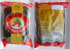 Zoete aardappelnoedels