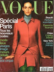 Vogue Paris Novembre 1998 (Ze Cali Fairy) Tags: fashion magazine vogue cover frenchvogue vogueparis