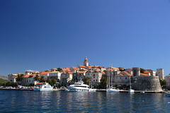 Korcula in the Croatian Islands