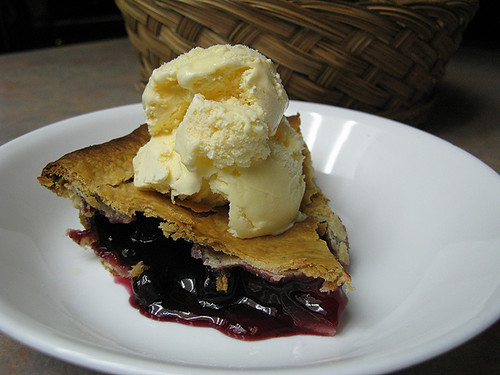 Slice of Cherry Blueberry Pie by DigiDi, on Flickr