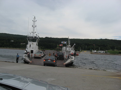 Crossing the Bras D'Or Lake