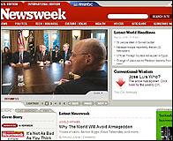 Web de Newsweek