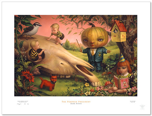 Mark Ryden - The Pumpkin President